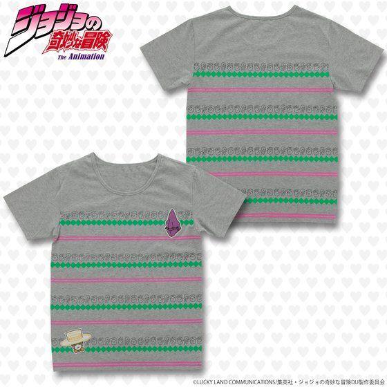 ジョジョの奇妙な冒険 ワッペンTシャツ じゃんけん小僧 アニメ・キャラクターグッズ新作情報・予約開始速報