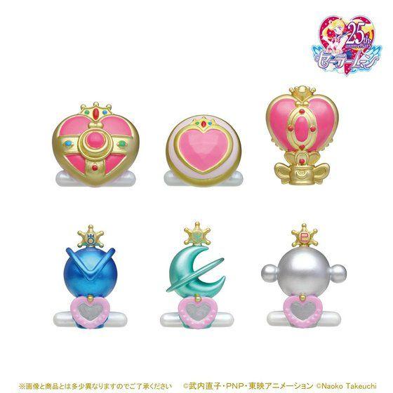 【PB】Oh!-egg美少女戦士 セーラームーンバスボール2 6個セット