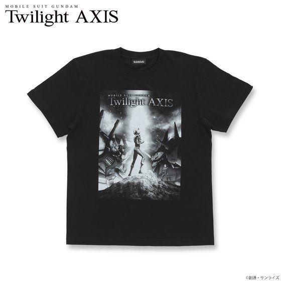 機動戦士ガンダム Twilight AXIS キービジュアル Tシャツ