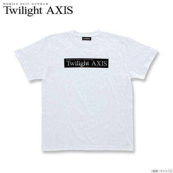 機動戦士ガンダム Twilight AXIS ロゴ Tシャツ アニメ・キャラクターグッズ新作情報・予約開始速報