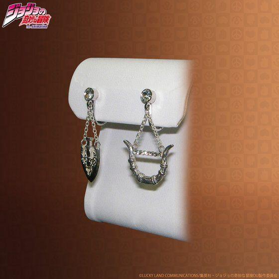 JOJO's Bow&Arrow accessory (弓と矢ピアス)