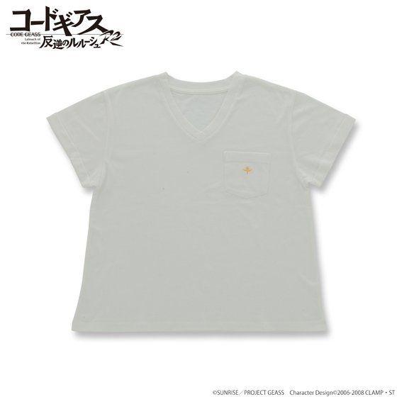 コードギアス 反逆のルルーシュ R2 ポケット付Tシャツ
