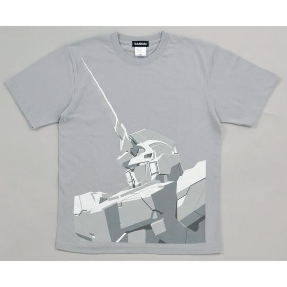 機動戦士ガンダムユニコーン Tシャツ(ユニコーンバストUP柄)【2017年7月発送】