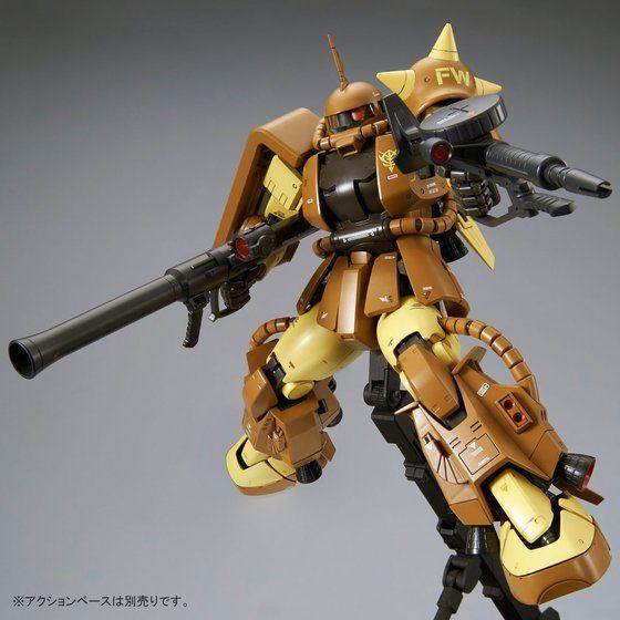 MG 1/100 MS-06R-1A マサヤ・ナカガワ専用ザクII 【2次:2017年10月発送】