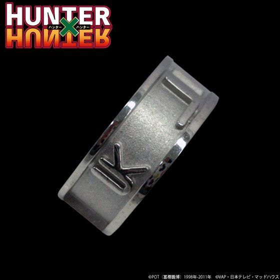 HUNTER×HUNTER ハンター文字リング「クラピカ」【再受注】
