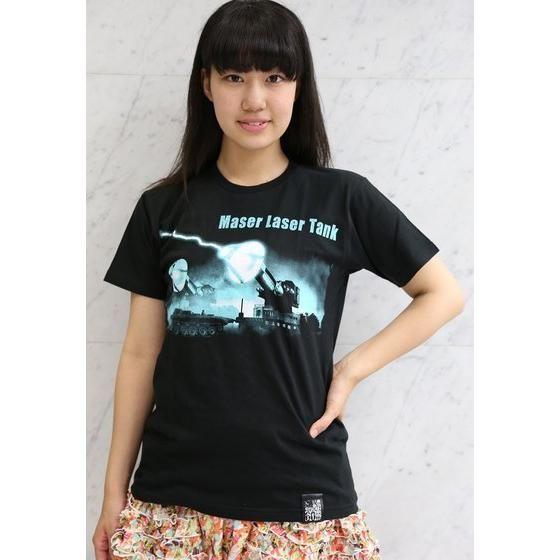 ゴジラ誕生60周年記念 『フランケンシュタインの怪獣 サンダ対ガイラ』メーサー光線車Tシャツ 【再入荷】