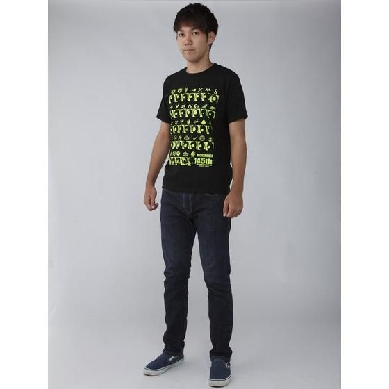 仮面ライダーシリーズ45周年記念 仮面ライダーエグゼイド&ライダー横顔Tシャツ