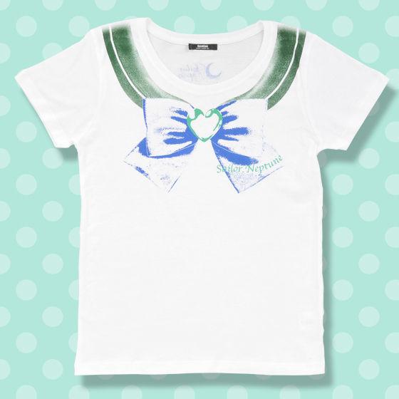 美少女戦士セーラームーン なりきりセーラーTシャツ(セーラーネプチューン柄)