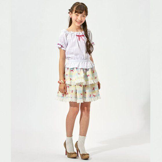 アイカツ!スタイル レインボーベリーパルフェ コットンベリースカート