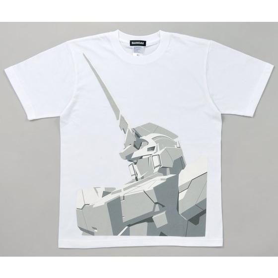 機動戦士ガンダムユニコーン Tシャツ(ユニコーンバストUP柄)