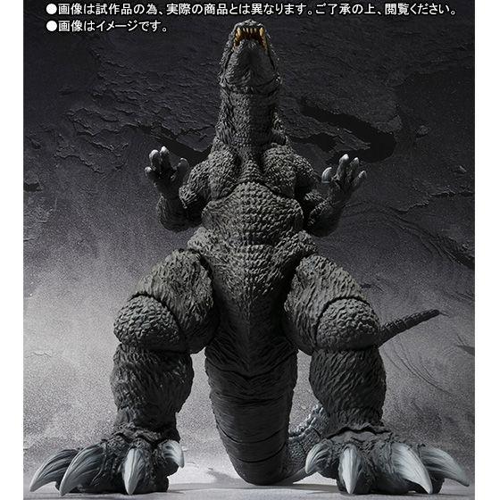 【抽選販売】S.H.MonsterArts ゴジラ(2001)