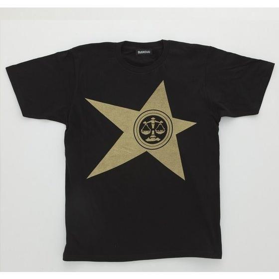 宇宙戦隊キュウレンジャー 「テンビンゴールド」なりきり風デザインTシャツ【再入荷】