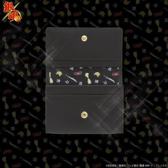 銀魂 レザーカードケース 真選組モデル