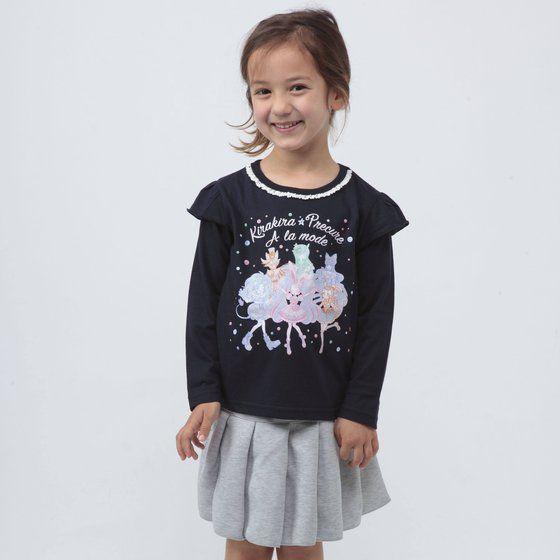 キラキラ☆プリキュアアラモード デザイン長袖TシャツB