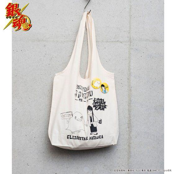 銀魂×SwimmyDesignLab×HTML 03 缶バッジ付トートバッグ