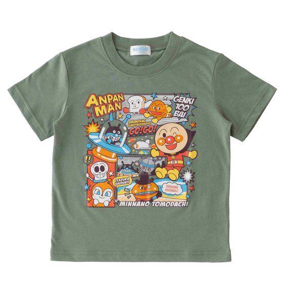 それいけ!アンパンマン男児 Tシャツセレクション コミック柄