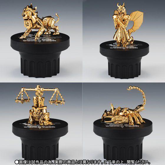 【抽選販売】聖闘士聖衣神話APPENDIX 黄金聖衣オブジェセット