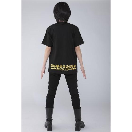 宇宙戦隊キュウレンジャー 「カジキイエロー」なりきり風デザインTシャツ【再入荷】