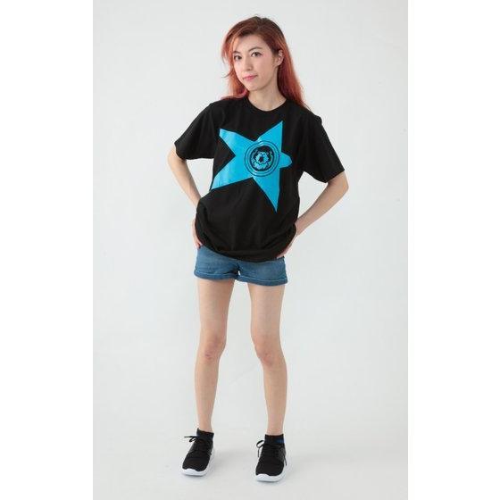 宇宙戦隊キュウレンジャー 「コグマスカイブルー」なりきり風デザインTシャツ【再入荷】