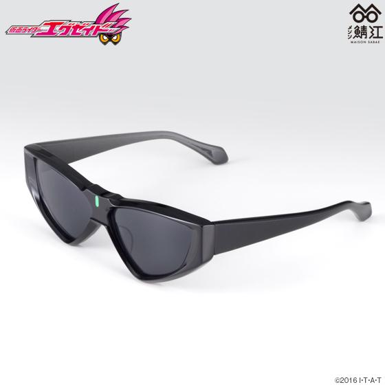 仮面ライダーエグゼイド×メゾン鯖江 眼鏡(大人用)ブラックフレーム