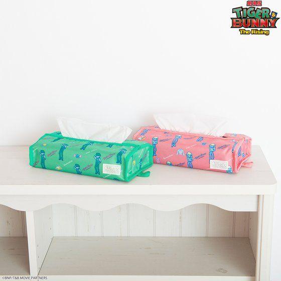 TIGER & BUNNY×HTML ZERO3 Guttarelax Reunited Buddy Tissue Case(ティッシュケース) アニメ・キャラクターグッズ新作情報・予約開始速報