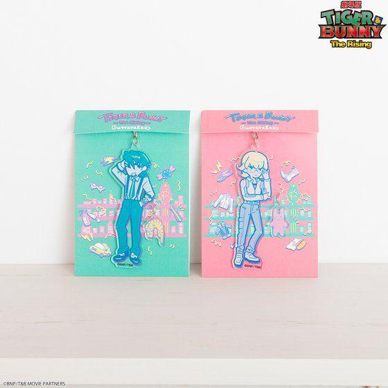 TIGER & BUNNY×HTML ZERO3 Guttarelax Reunited Buddy Bag Charm(バッグチャーム)
