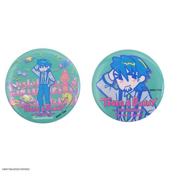TIGER & BUNNY×HTML ZERO3 Guttarelax Reunited Buddy Can Badge Set(缶バッジセット)