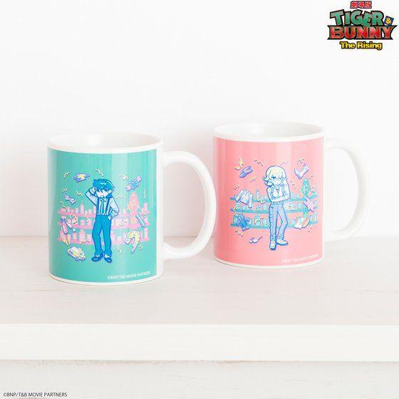 TIGER & BUNNY×HTML ZERO3 Guttarelax Reunited Buddy Mug Cup(マグカップ)