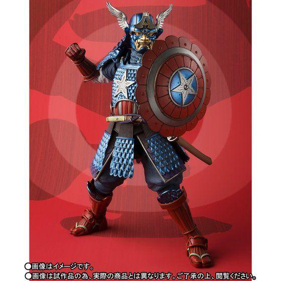 名将MANGA REALIZATION 侍 キャプテン・アメリカ