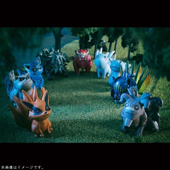 【抽選販売】G.E.M.シリーズ 外伝! NARUTO-ナルト- 疾風伝 うずまきナルトと尾獣たち
