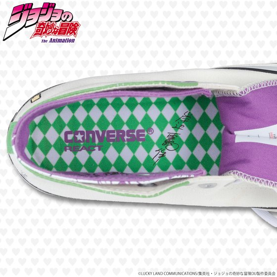 【CONVERSE ALL STAR 100】ALL STAR 100 W HI / JO【ジョジョの奇妙な冒険 岸辺露伴モデル】