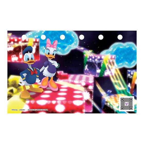 ディズニー マジックキャッスル ドリームコーデシール Vol.1 ドナルド&デイジー