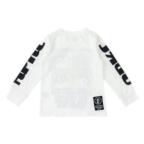 グラフィック長袖Tシャツ 4コマ柄