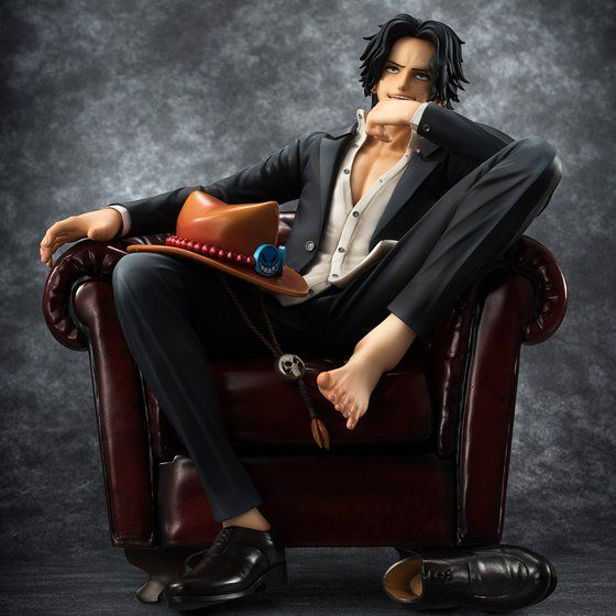 "Portrait.Of.Piratesワンピース""S.O.C"" ポートガス・D・エース"