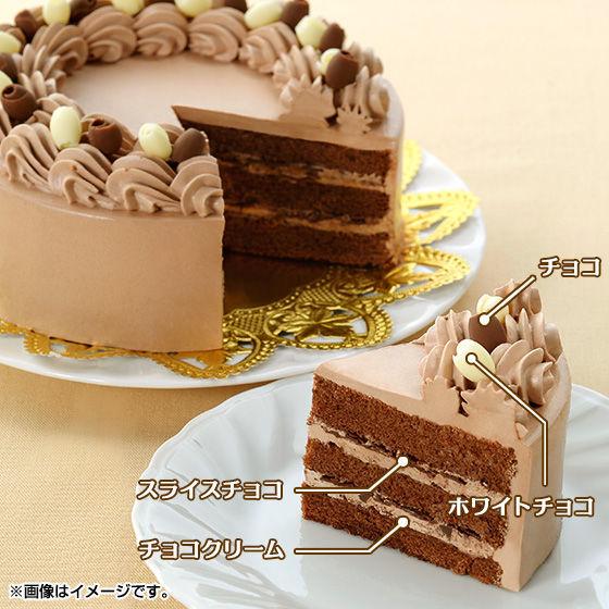 キャラデコお祝いケーキ 仮面ライダービルド(チョコクリーム)(5号サイズ)