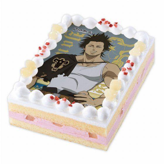 [キャラデコプリントケーキ] ブラッククローバー ヤミ・スケヒロ