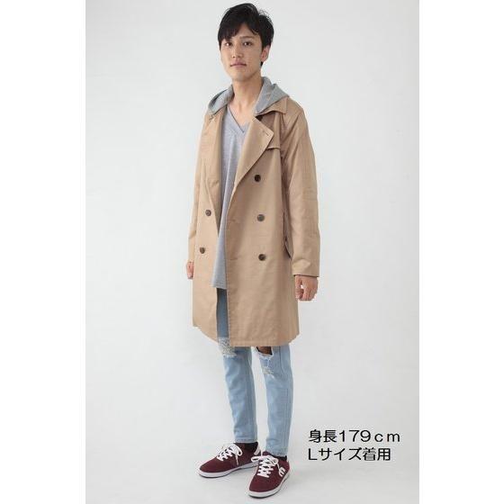 仮面ライダービルド 桐生戦兎 フード付トレンチコート
