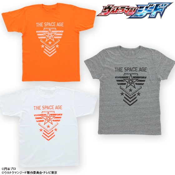 『ウルトラマンジード』朝倉リク THE SPACE AGE Tシャツ マーク柄 【再入荷】