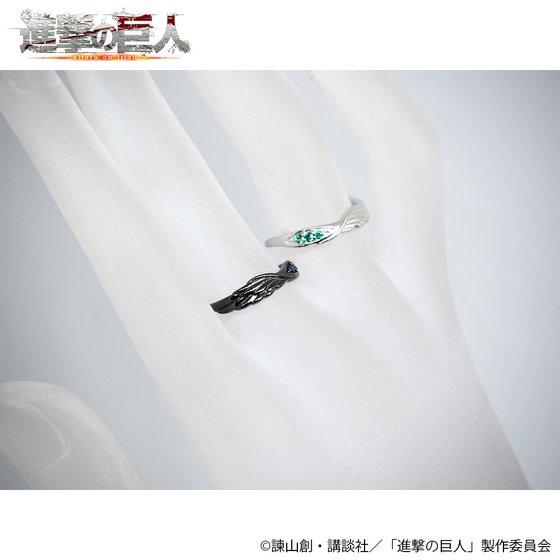 進撃の巨人×MATERIAL CROWN シルバーリング(リヴァイモデル)【3次:2018年1月お届け】