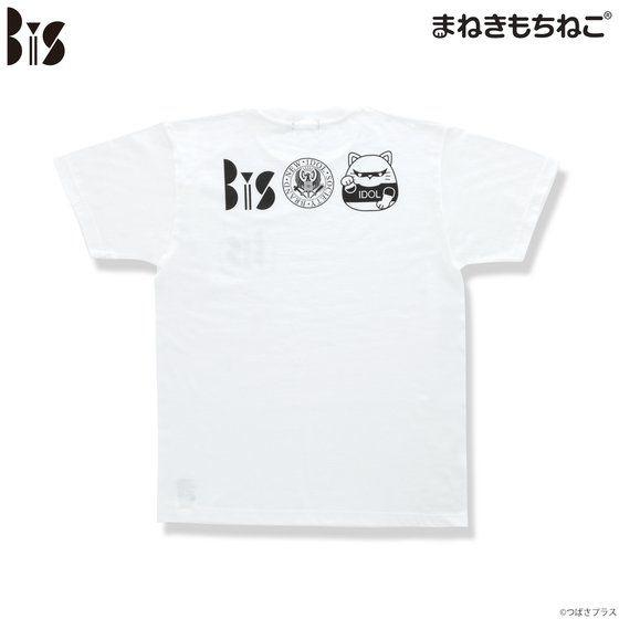 まねきもちねこ BiS Tシャツ 白