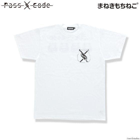まねきもちねこ PassCode Tシャツ 白