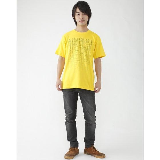 仮面ライダーエグゼイド 宝生永夢 Tシャツ 01柄(イエロー)