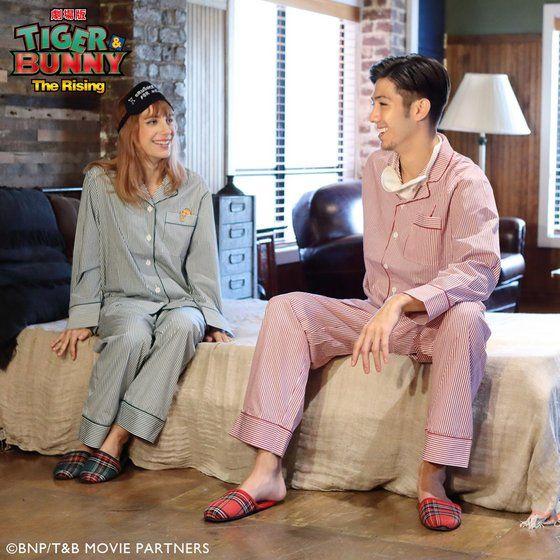 劇場版 TIGER & BUNNY -The Rising-  パジャマセット アニメ・キャラクターグッズ新作情報・予約開始速報