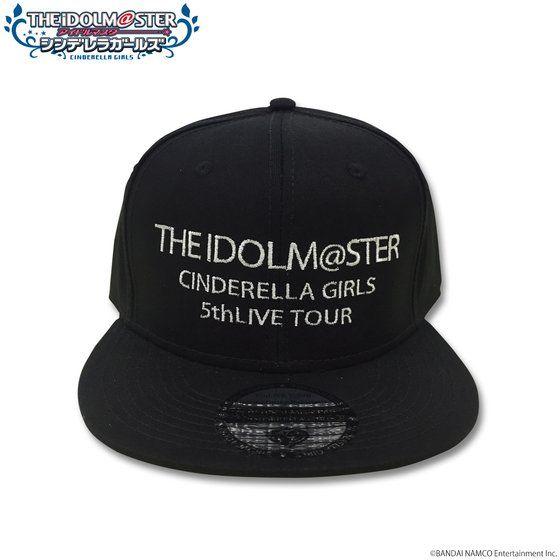 アイドルマスター シンデレラガールズ  5thLIVE TOUR キャップ