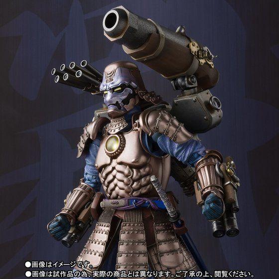 名将MANGA REALIZATION 鋼鉄侍ウォーマシン