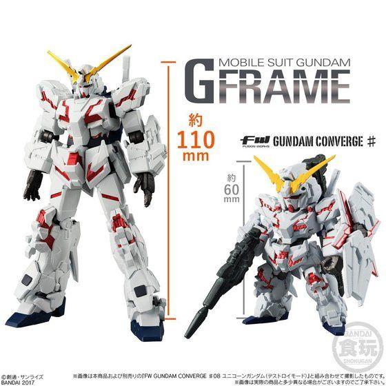 機動戦士ガンダム Gフレーム(10個入)