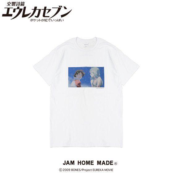 劇場版交響詩篇エウレカセブン ポケットが虹でいっぱい×JAM HOME MADE Tシャツ