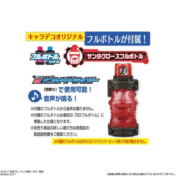キャラデコクリスマス 仮面ライダービルド(5号サイズ)