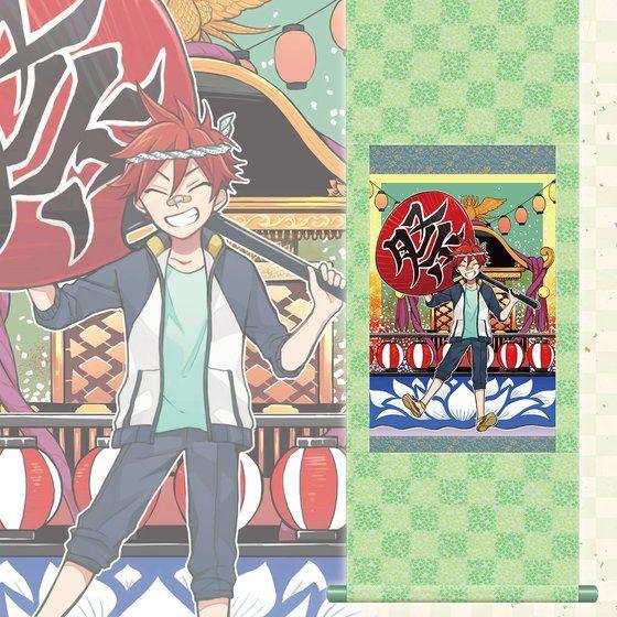 刀剣乱舞-ONLINE- 刀剣乱舞 一周年記念祝画 掛軸 第三弾【2次:2017年11月発送】