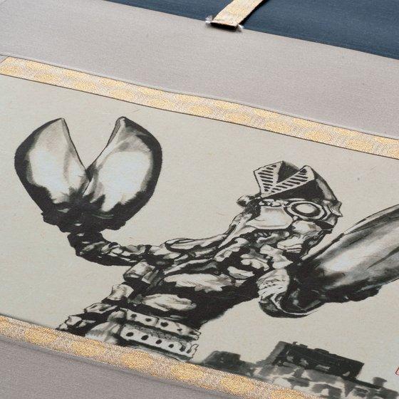 ウルトラマンシリーズ 放送開始50年記念 掛軸【3次:2017年12月発送】